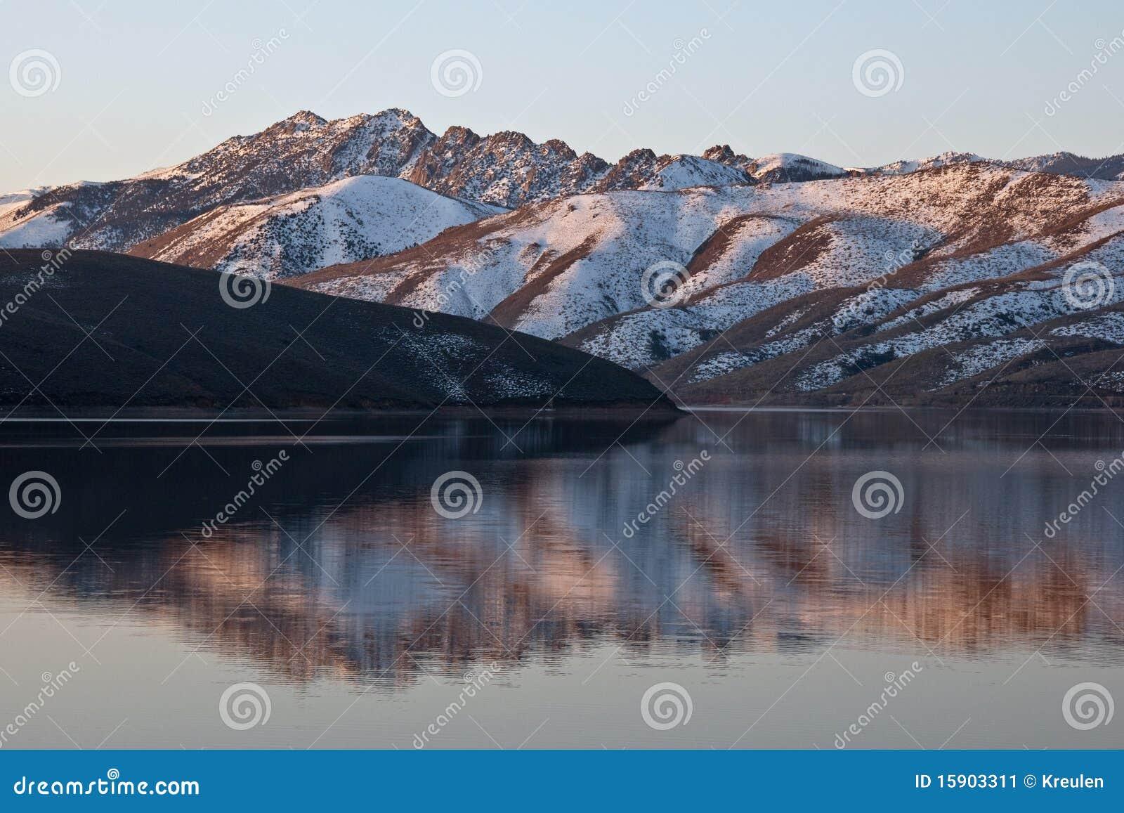 Topaz Lake Reflection