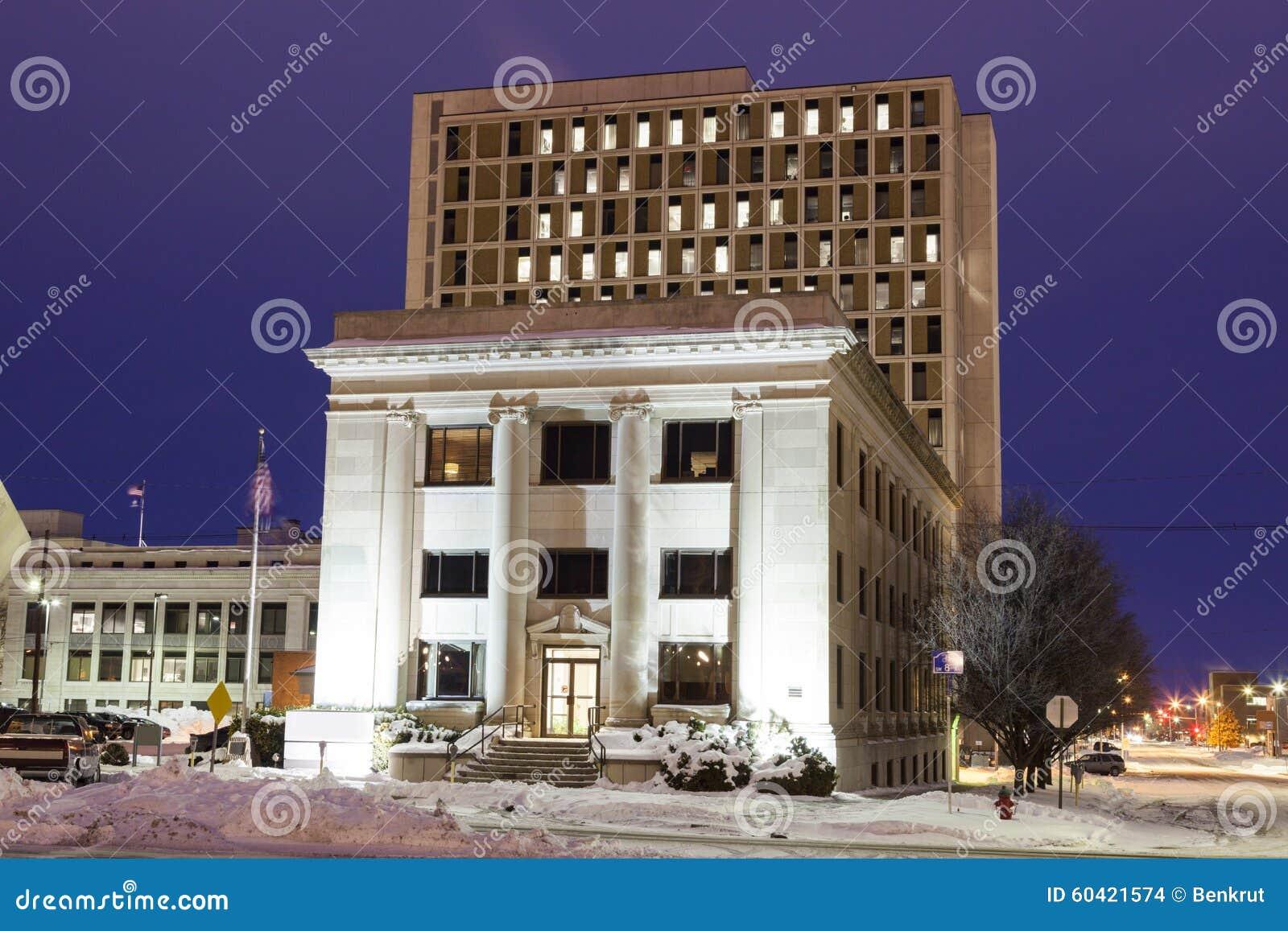 Topeka建筑学日出的