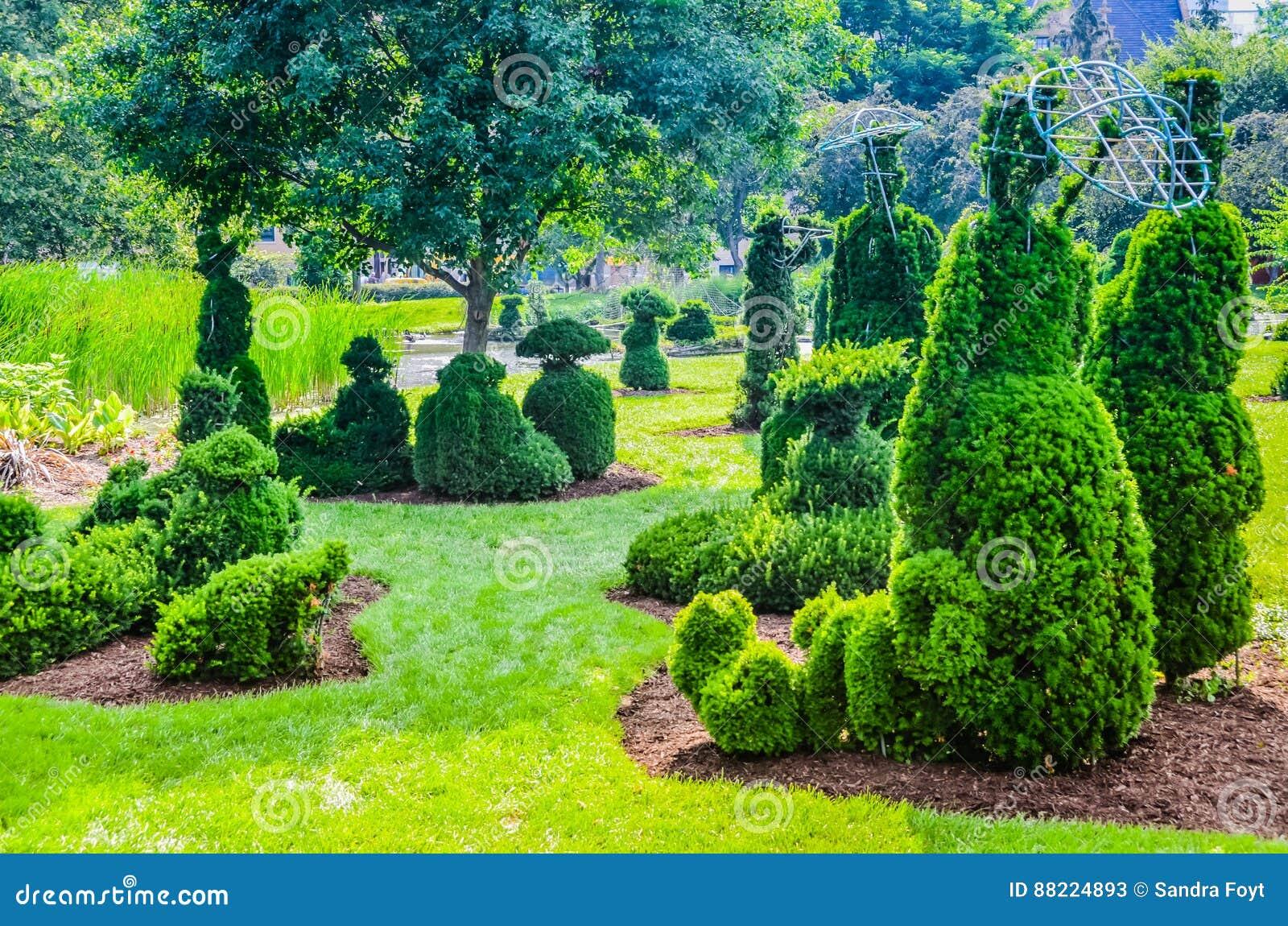 Topiary Garden - Columbus, Ohio