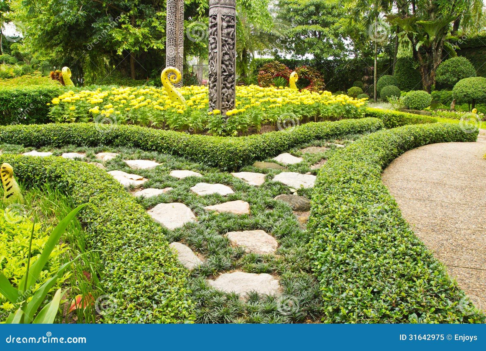 Topiary garden design art royalty free stock photo for Topiary garden designs