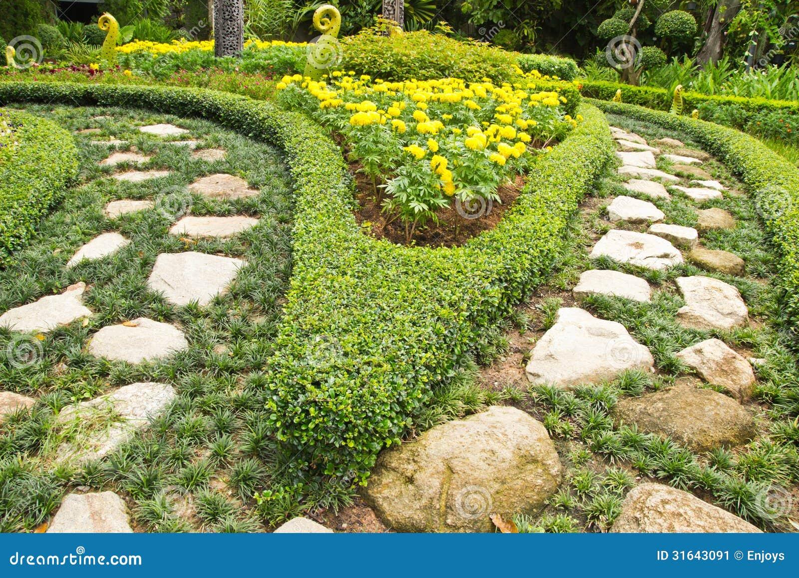 Topiary garden design art stock image image 31643091 for Topiary garden designs