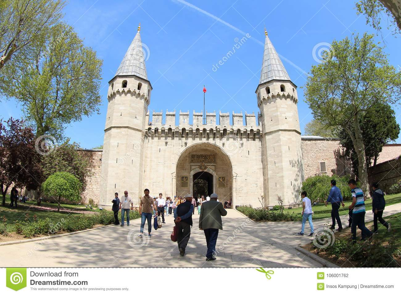 Topkapi Palace Museum, Istanbul in Spring