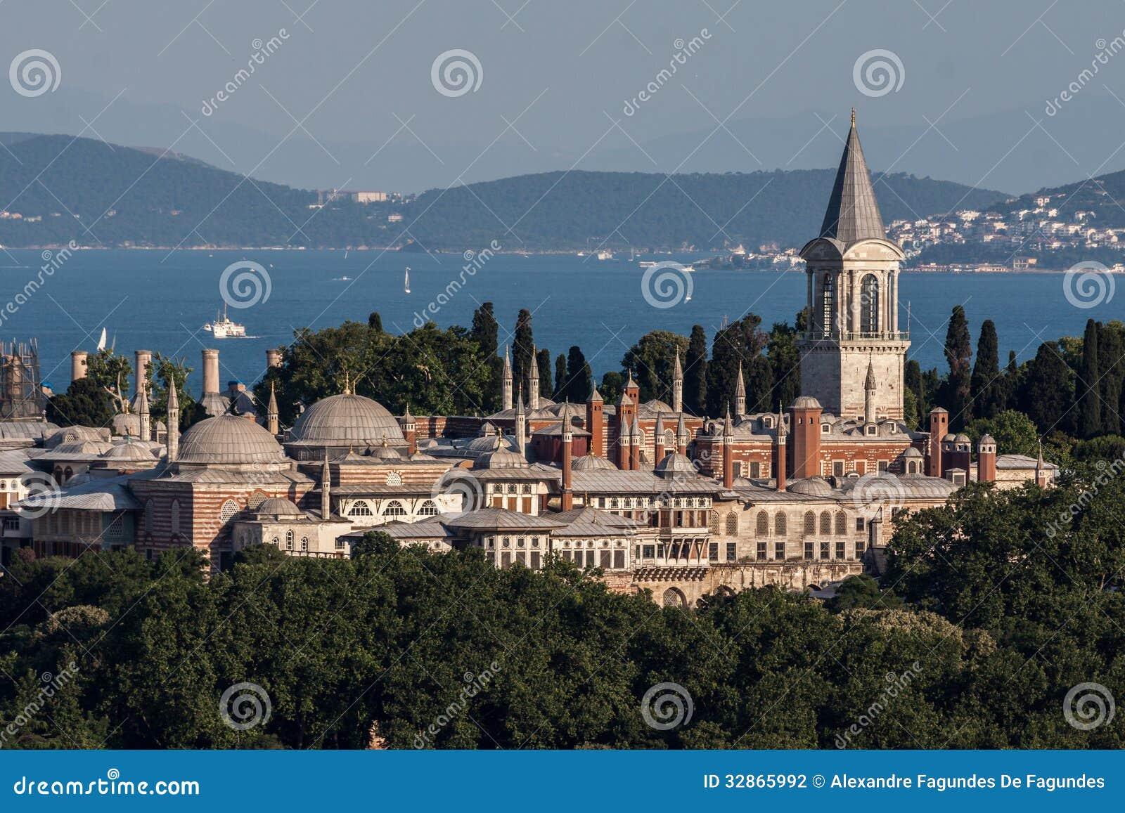 Topkapi slott Istanbul