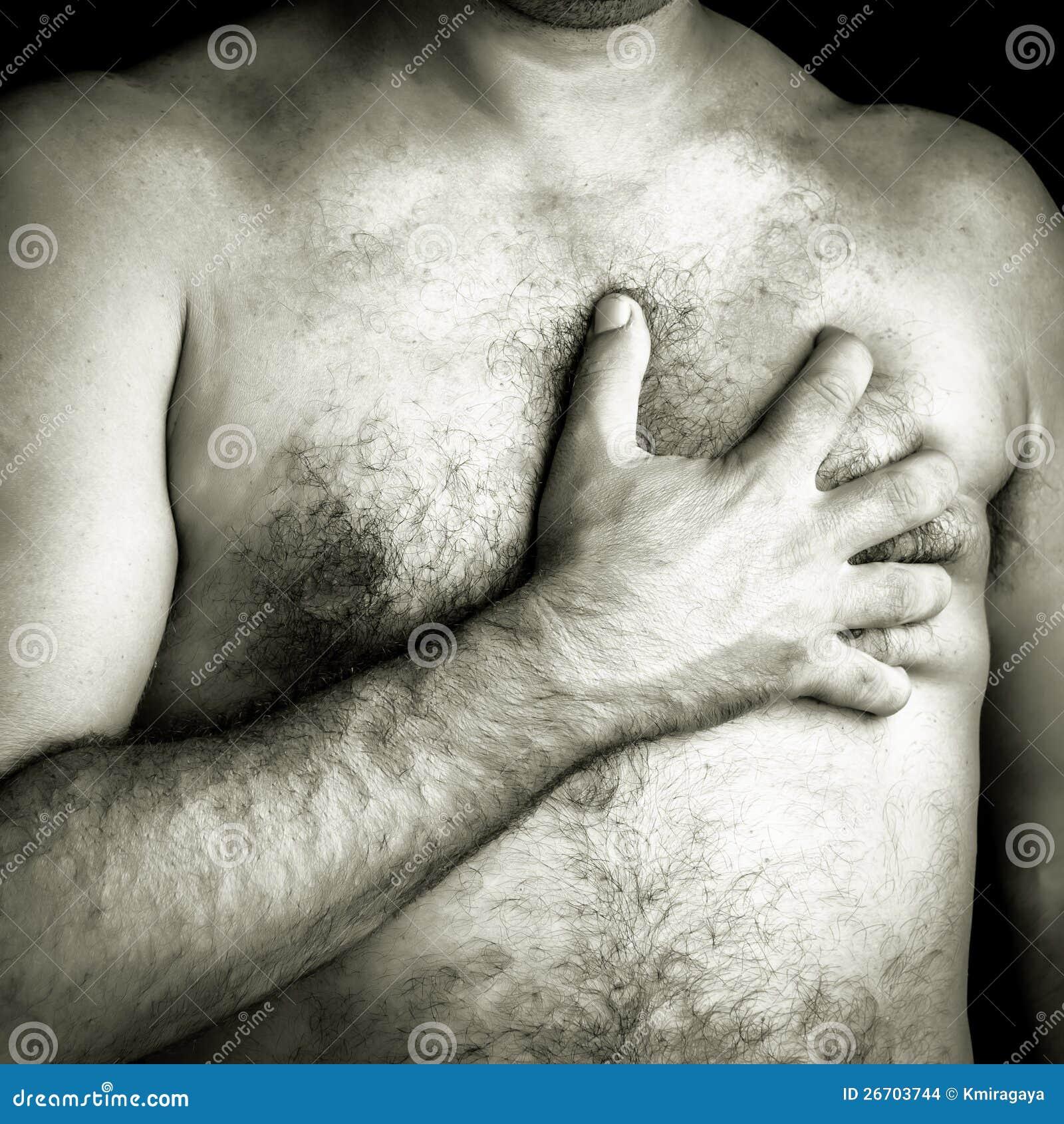 Consider, breast pain in men