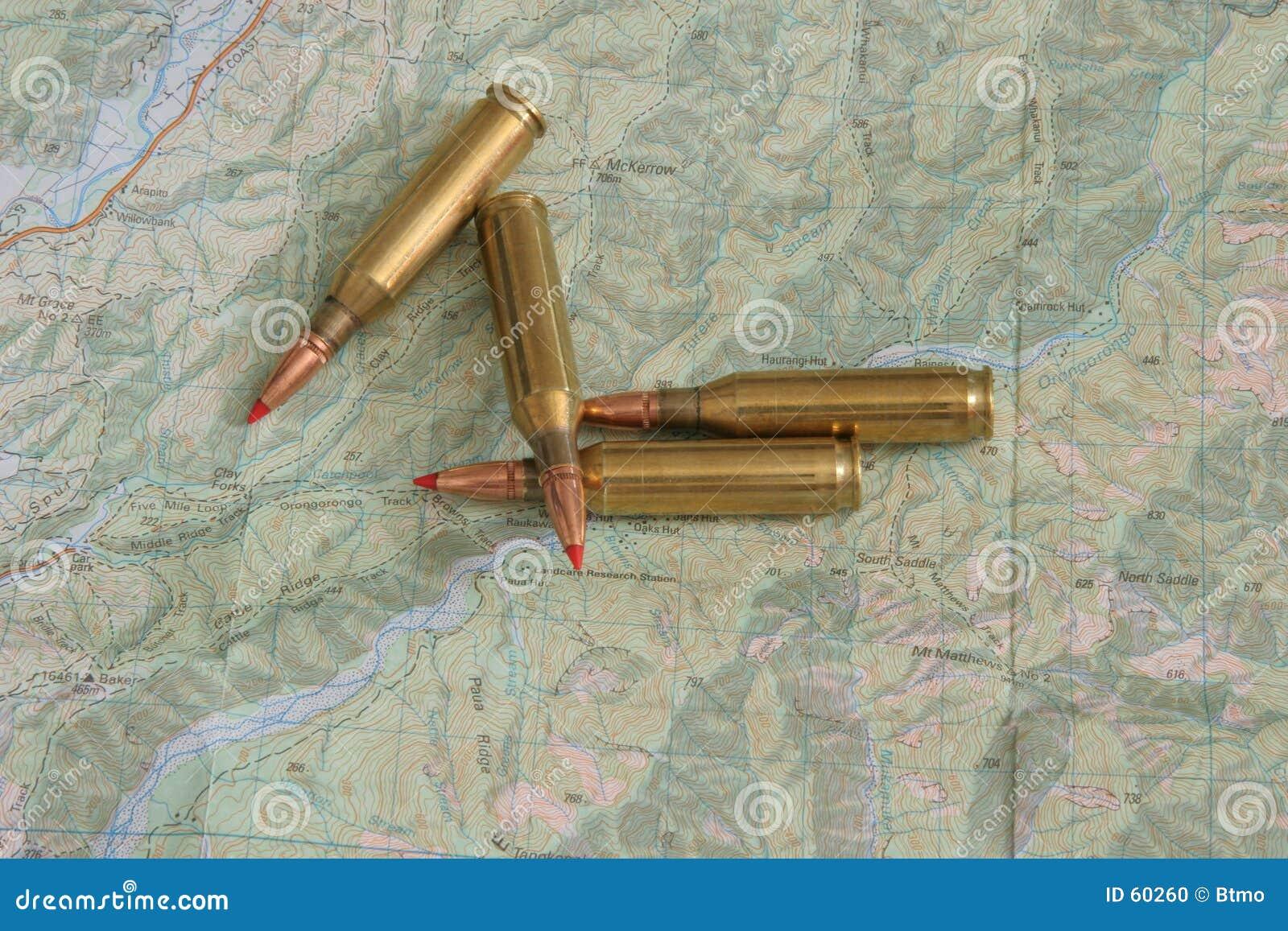 Topo χαρτών πυρομαχικών