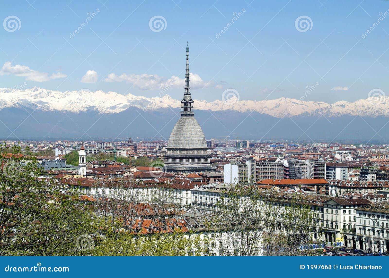 Topo Antonelliana en Turín, Italia