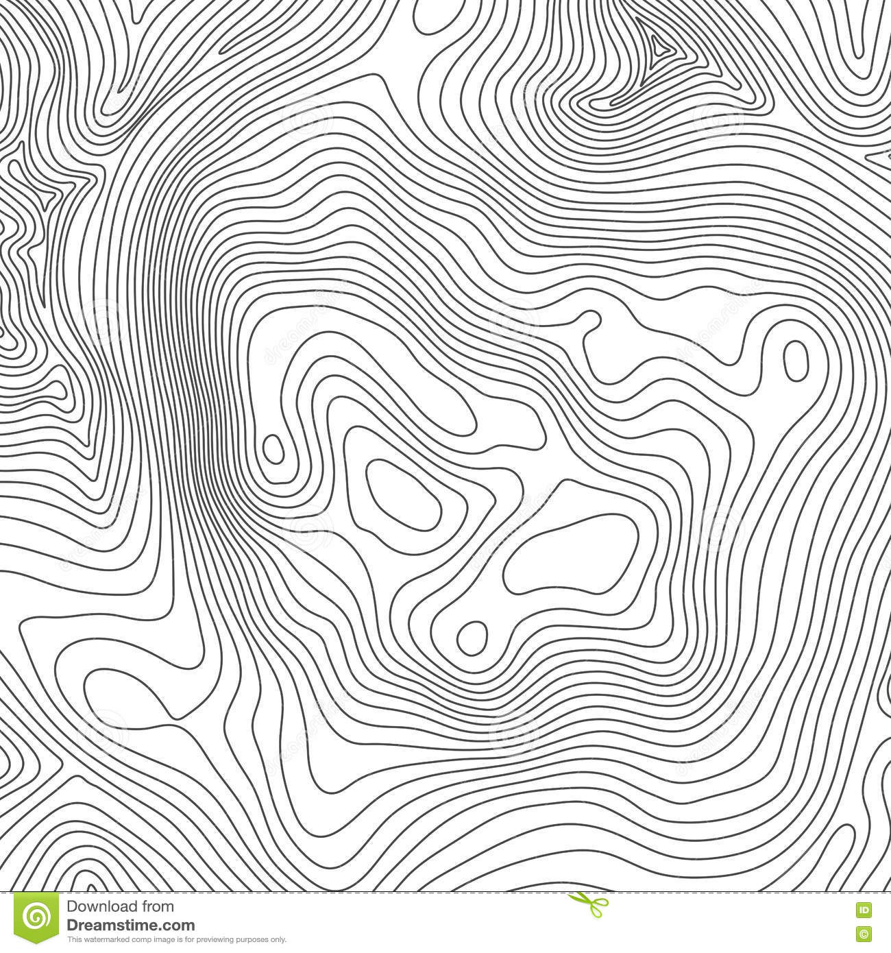 Contour Line Drawing Map : Topographic map background concept with space for your