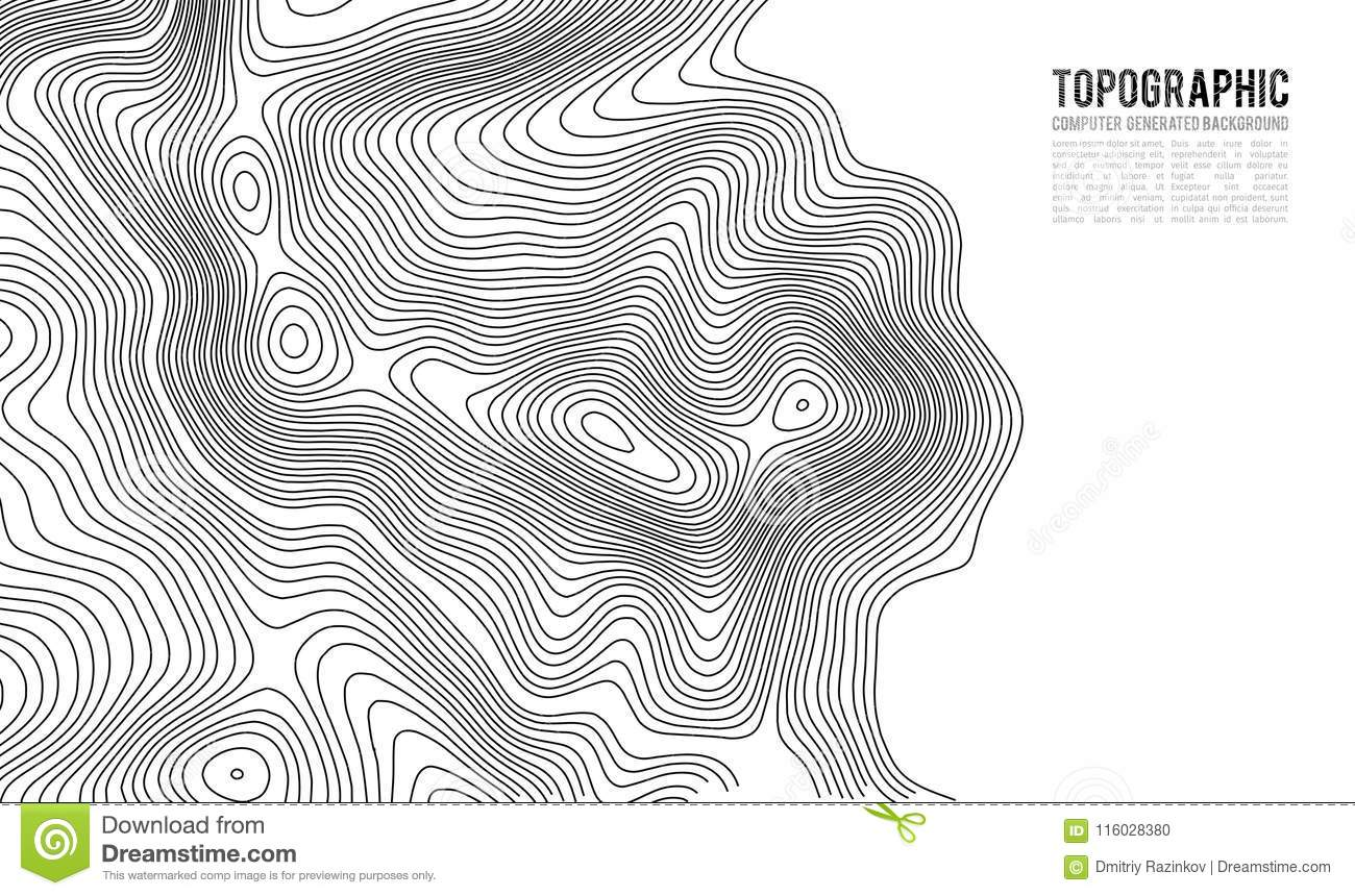 Topographic Map Game.Topographic Map Contour Background Topo Map With Elevation Contour