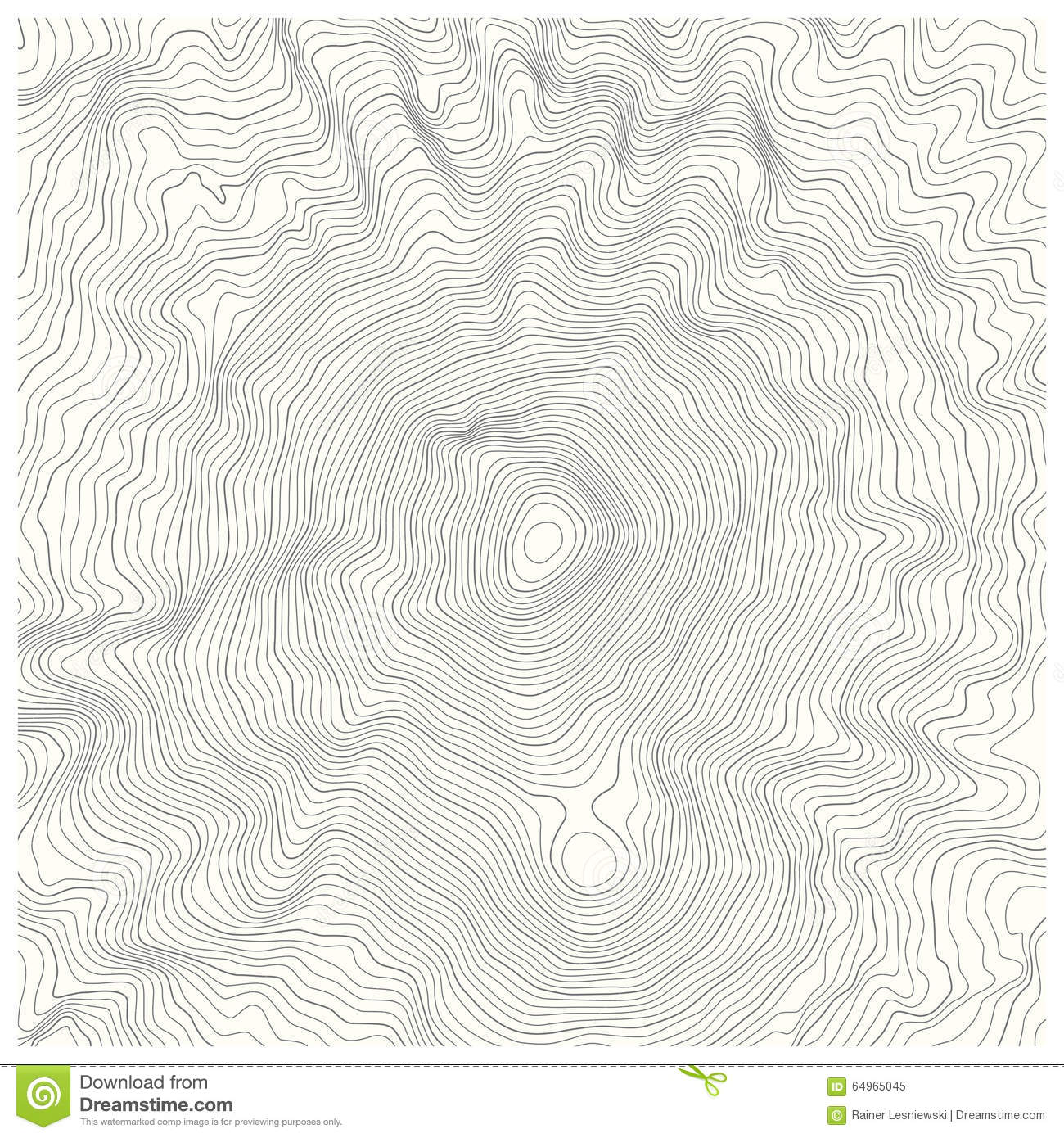 Contour Line Drawing Map : Topographic map stock vector image of mountain lines