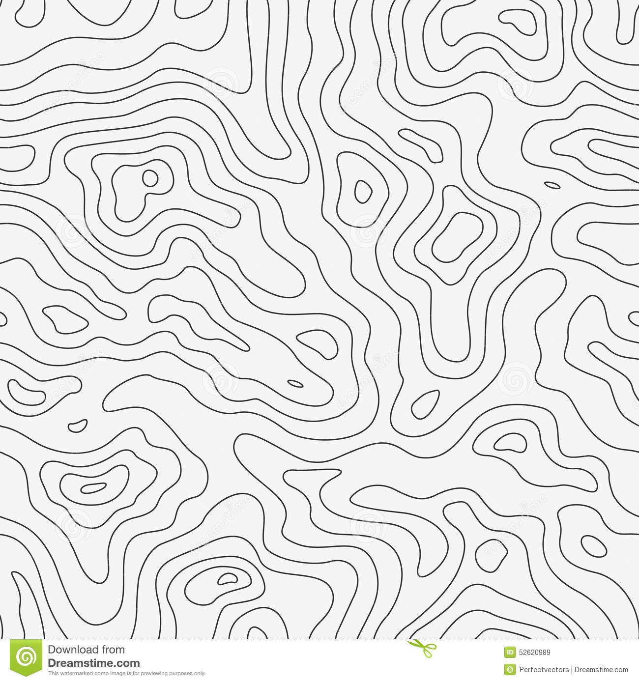 Topographic Map Vector Free.Topographic Map Seamless Pattern Stock Vector Illustration Of