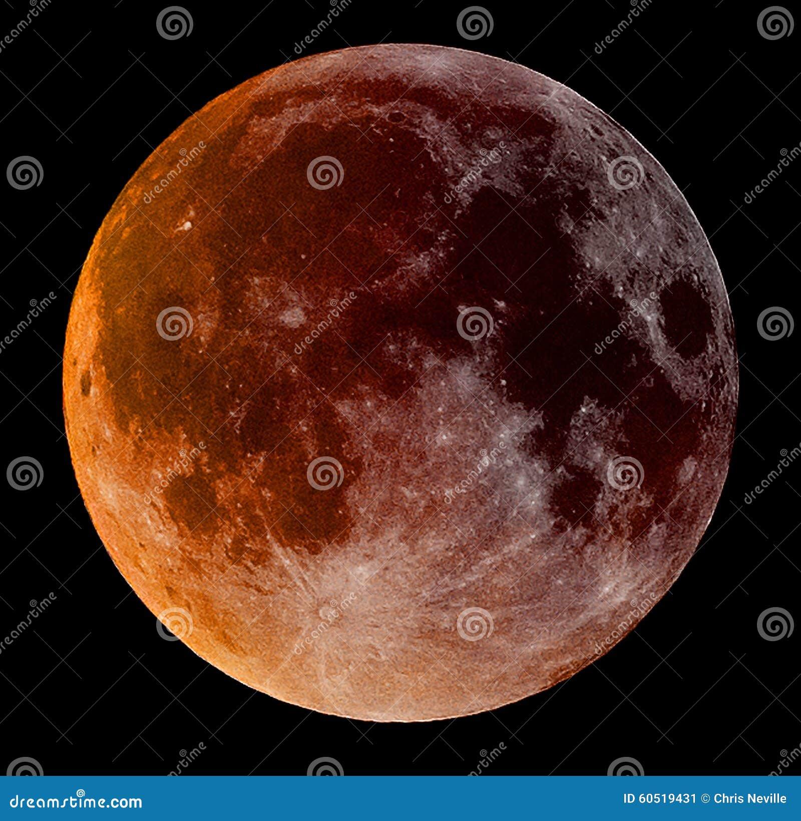 Toppen blodmåne