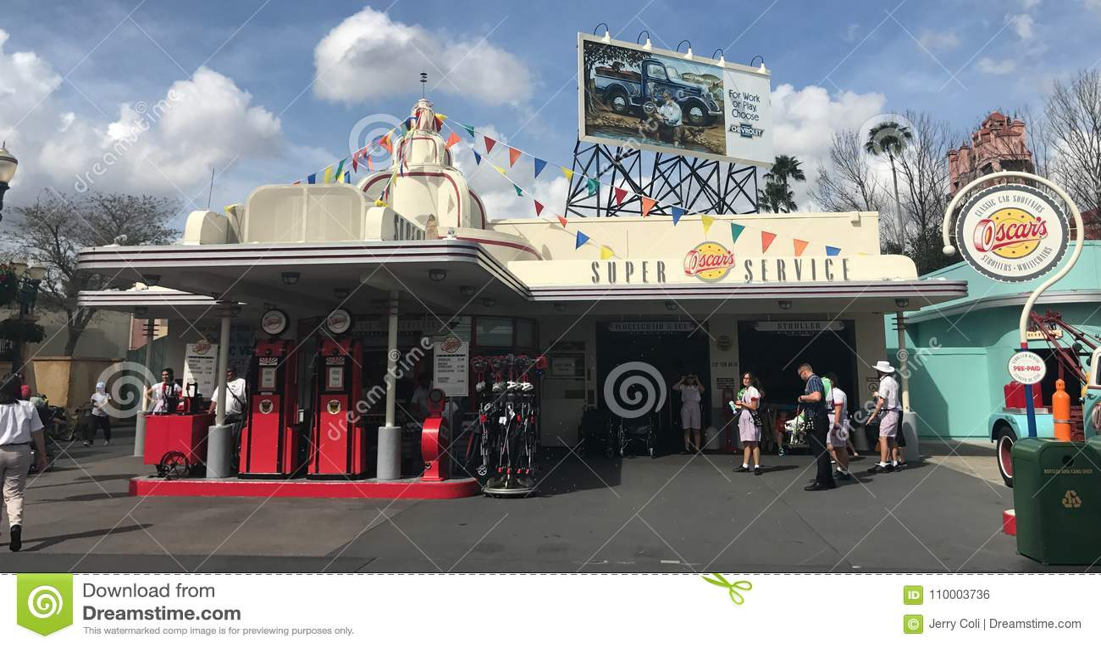 Toppen service för Oscar ` s, Hollywood studior, Orlando, FL