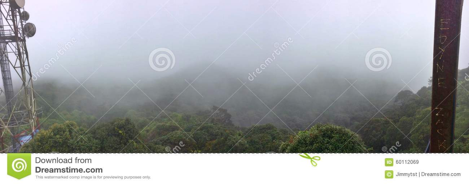 Toppmötesikt - Gunung Brinchang
