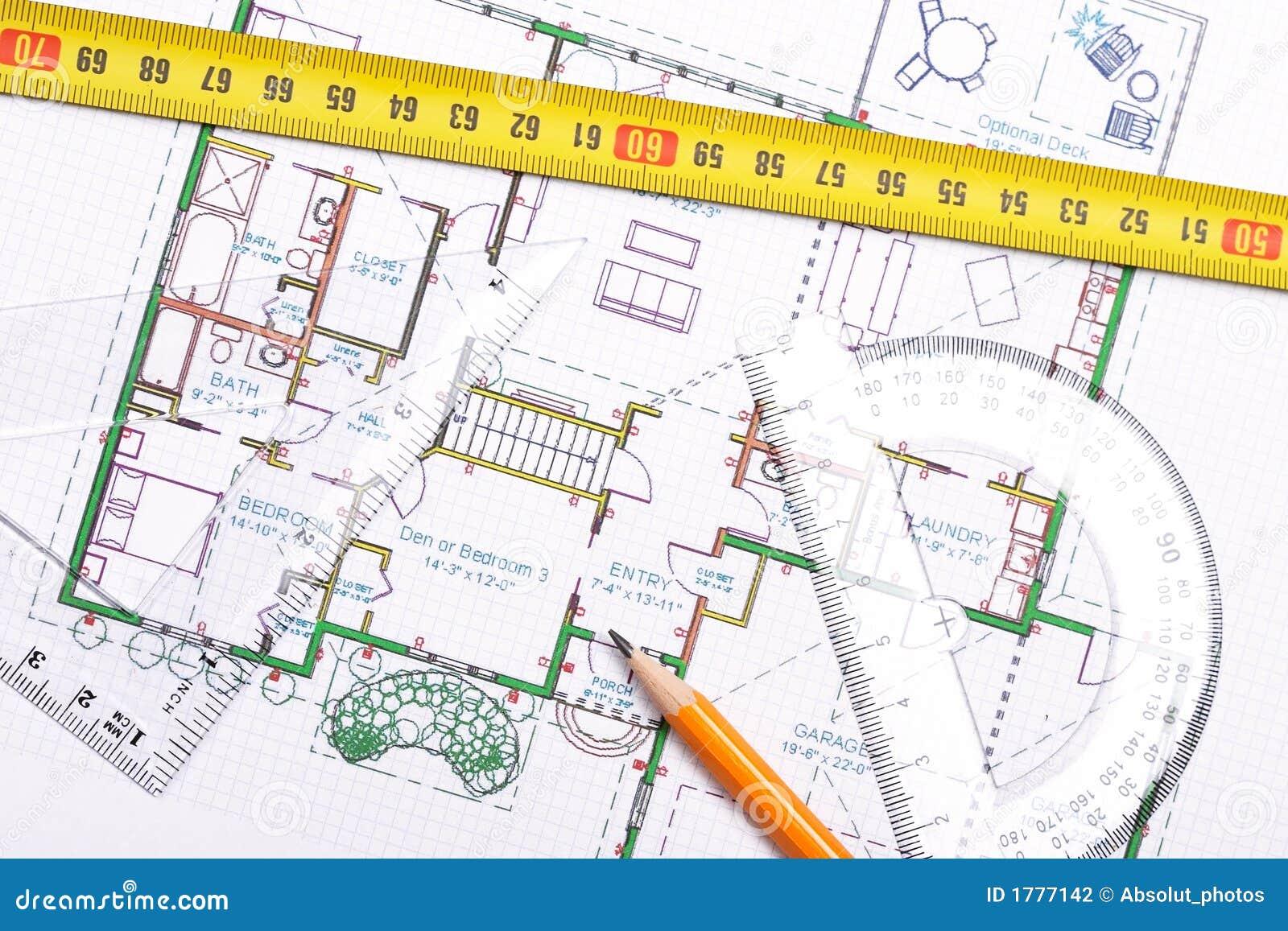 Topview de plan d étage