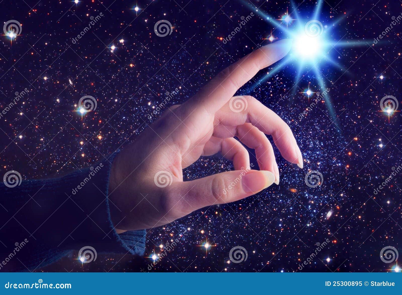 Toque cósmico espiritual