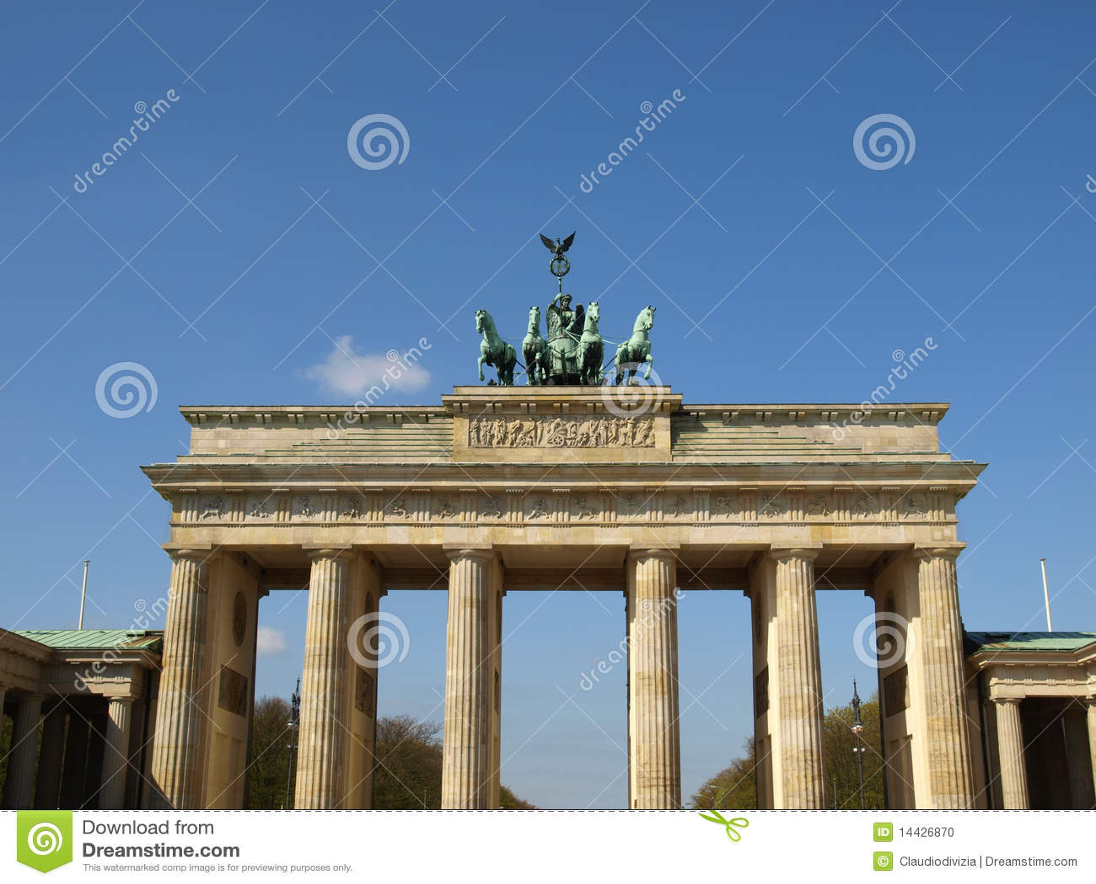 Tor de Brandenburger, Berlim