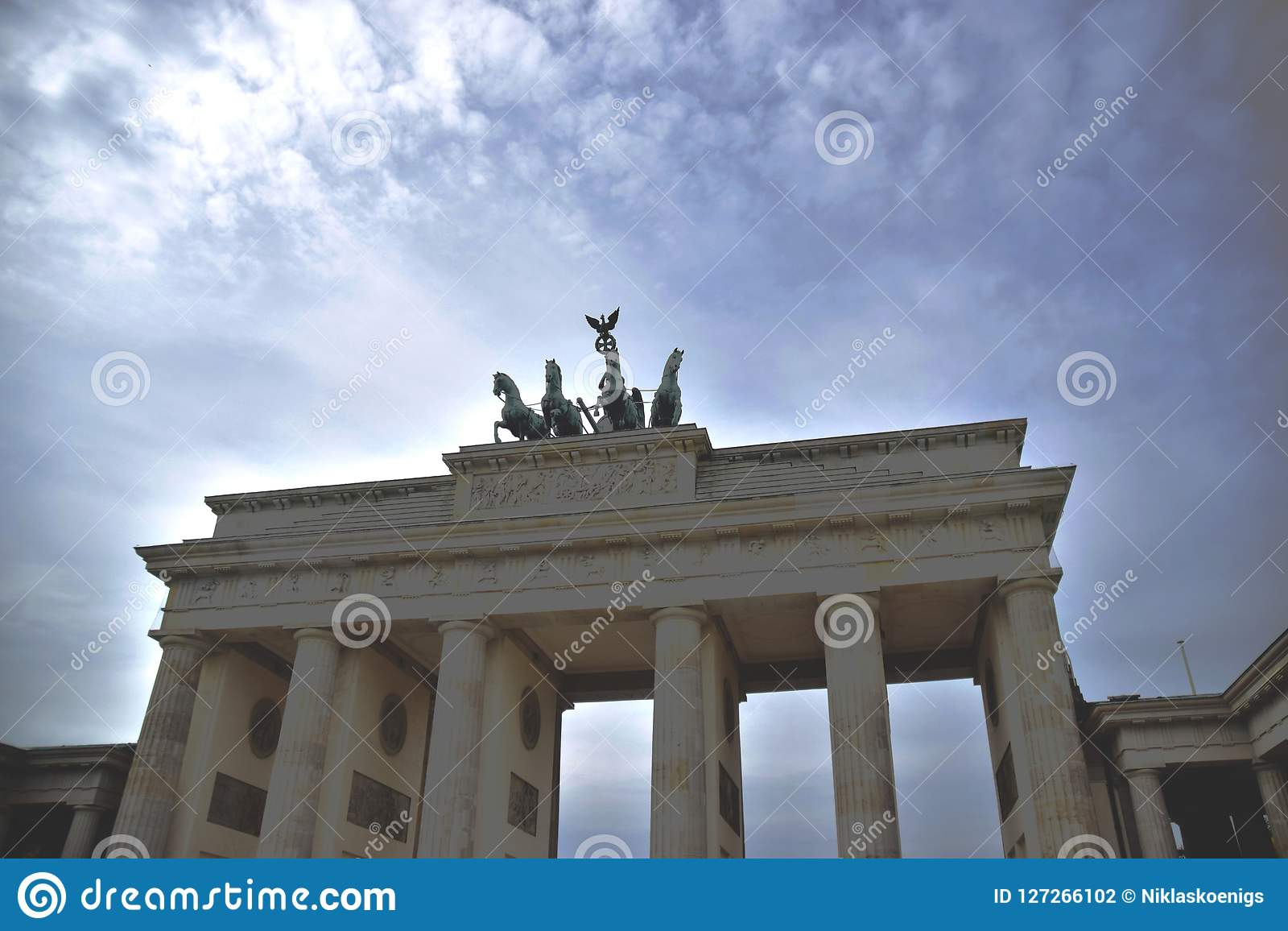 Tor di Brandenburger a Berlino