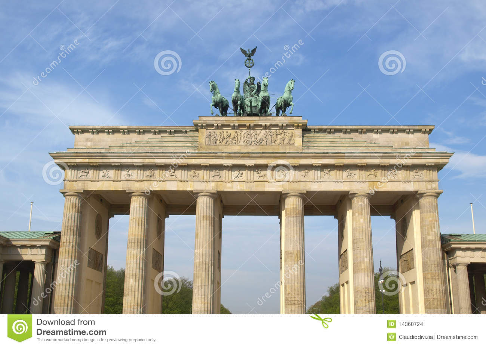 Tor di Brandenburger, Berlino