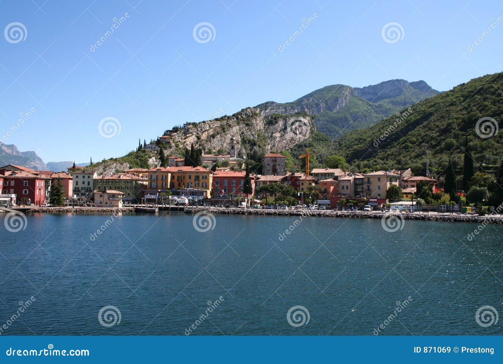 Torbole, Meer Garda, Italië.