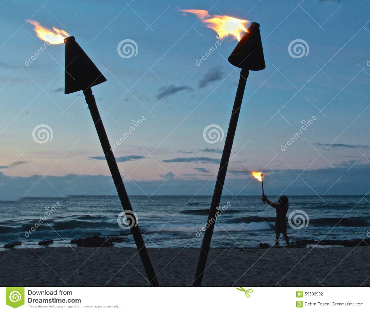 Torch lighting ceremony Hawaii & Torch Lighting Ceremony Hawaii Stock Photo - Image of energy light ...