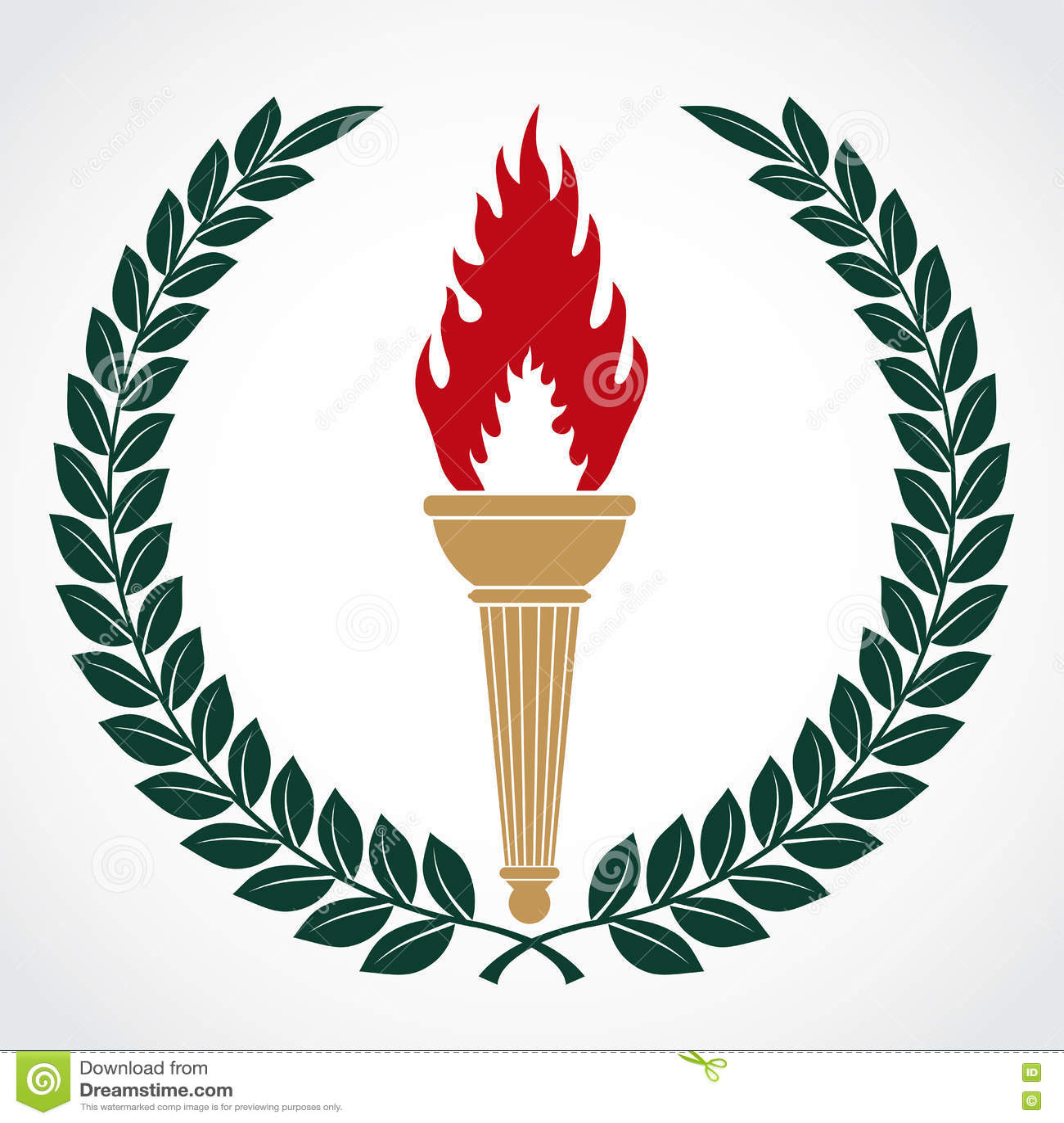 Torch Lighting Symbolism Democraciaejustica
