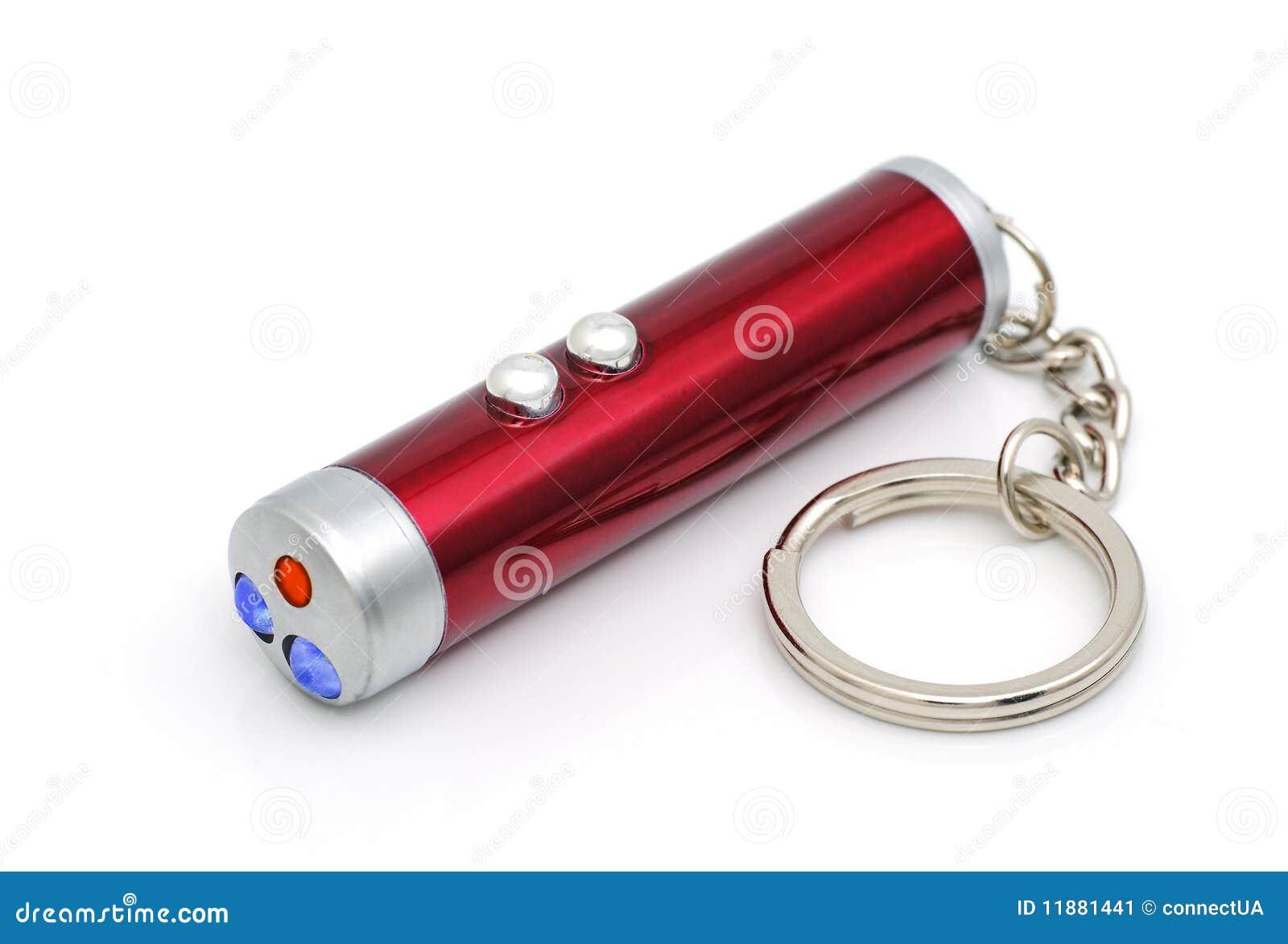 Torcia con un laser immagine stock. immagine di alluminio 11881441