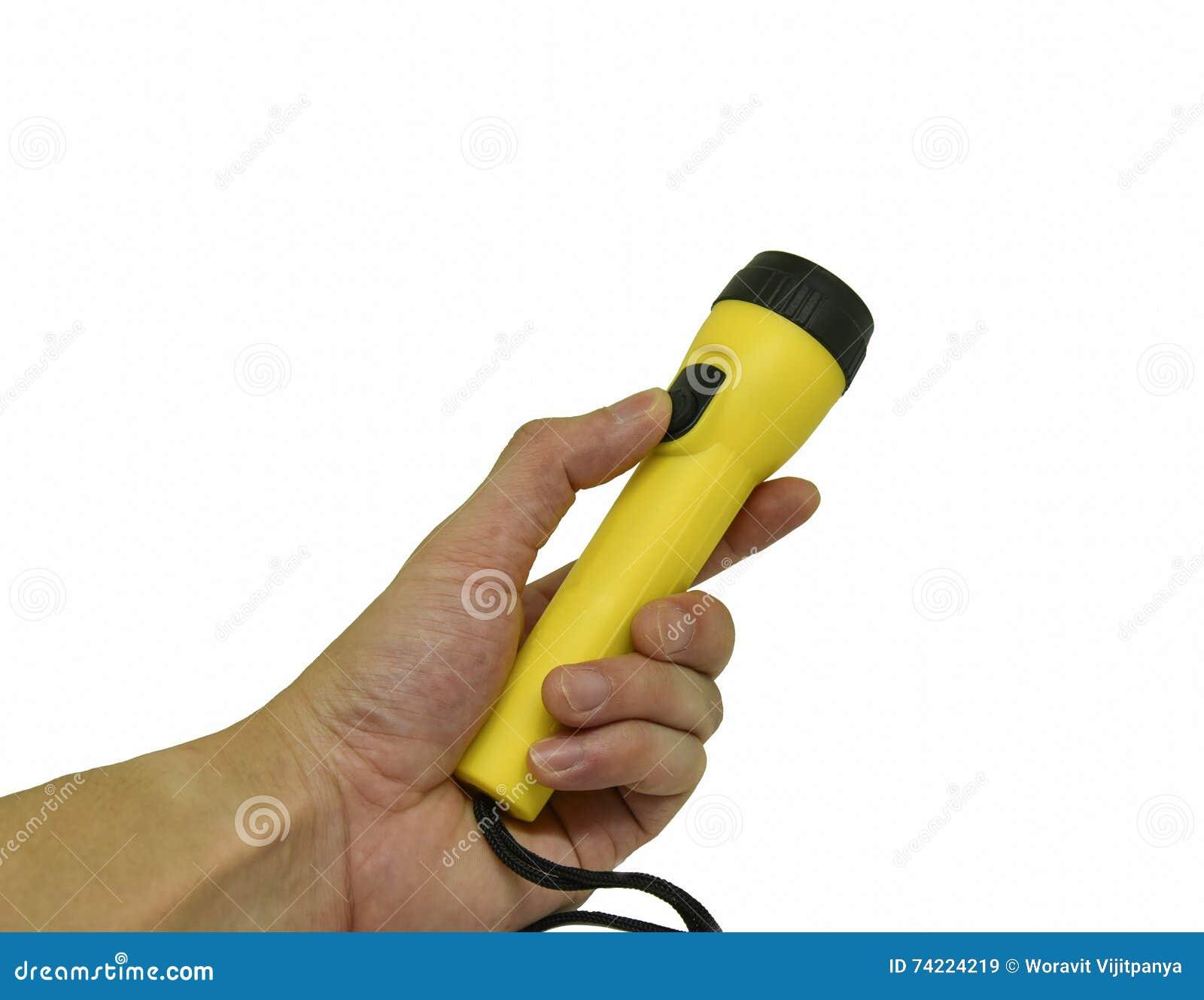 Torcia elettrica gialla