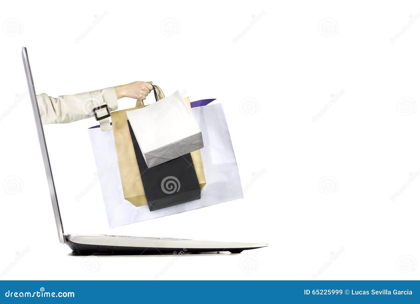 Toreb sznura internetów utrzymań władzy zakupy sklep