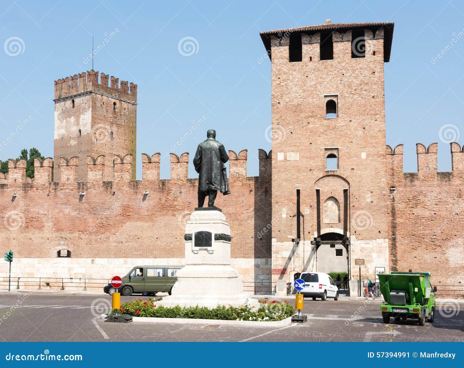 Toren van Castelveccio in Verona