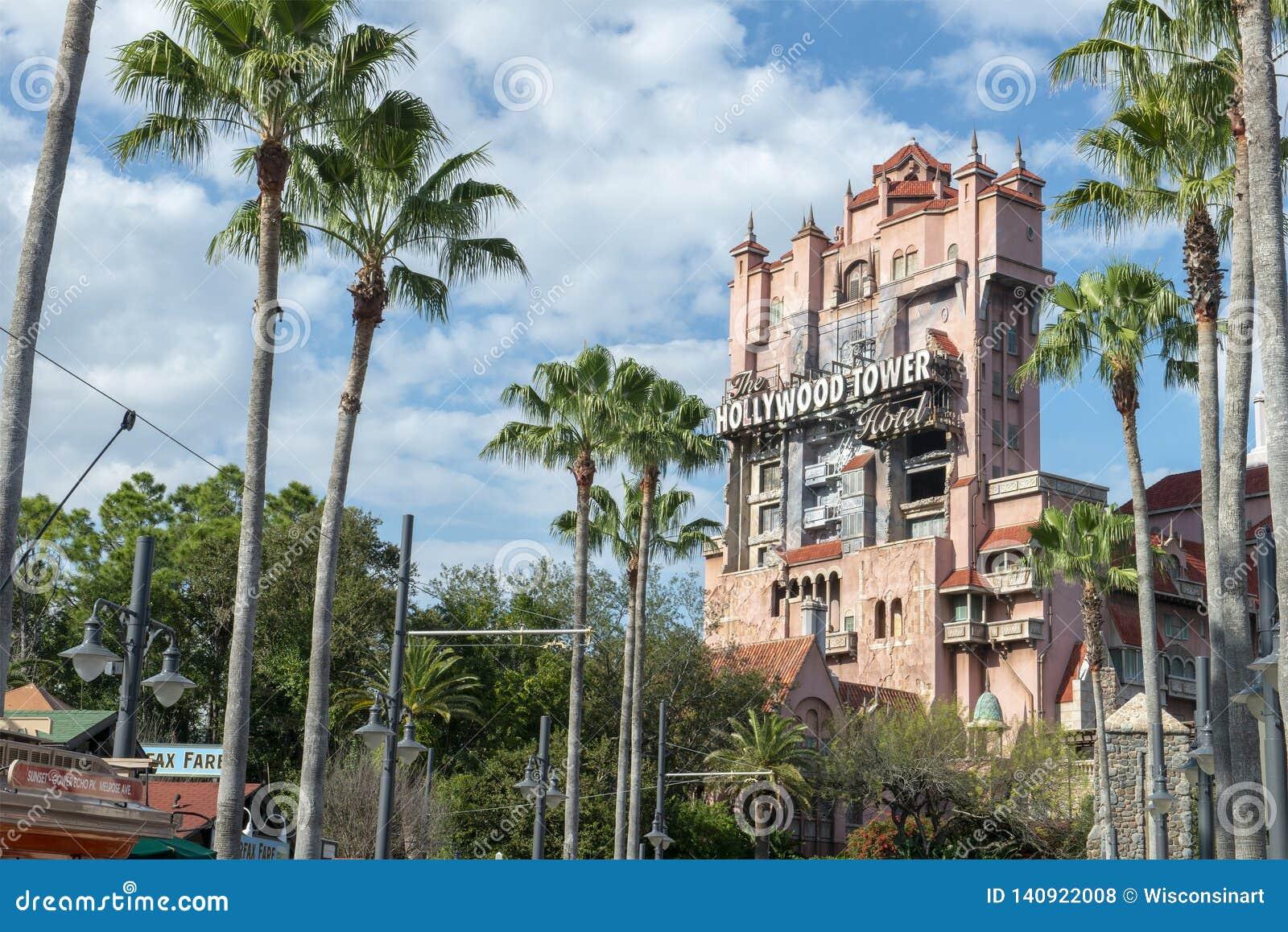 Toren van Verschrikking, Disney World, Reis, Hollywood-Studio s