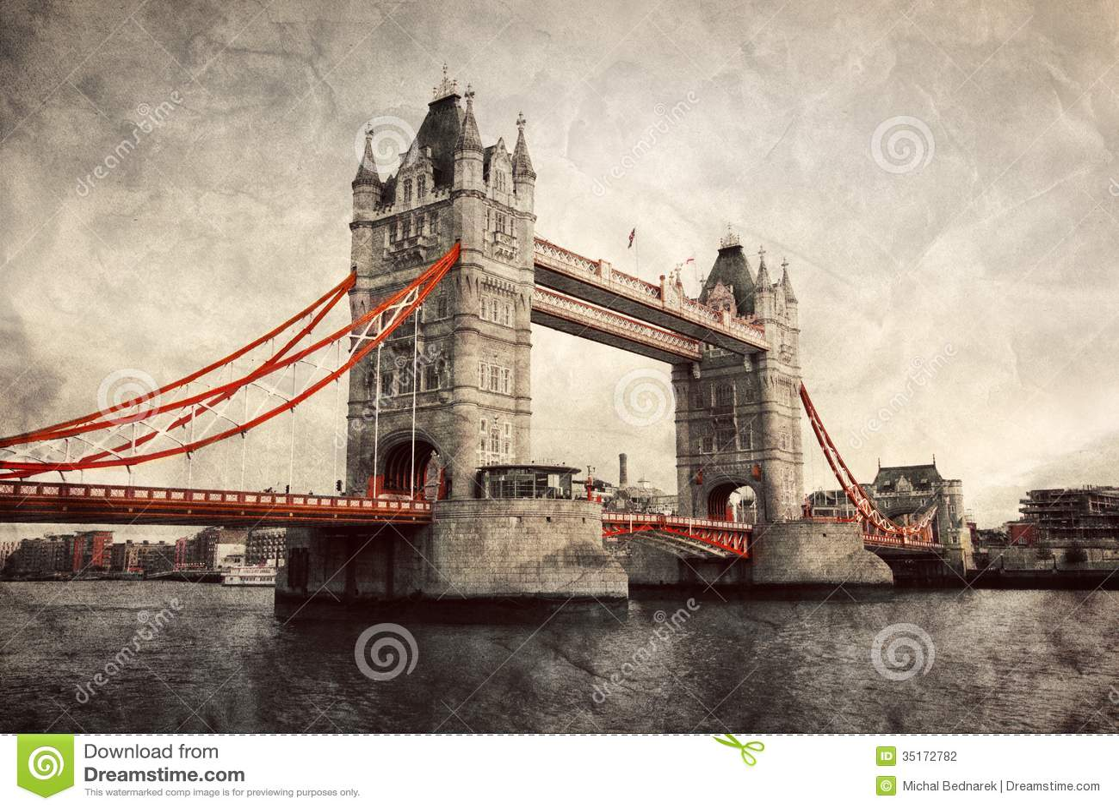 Torenbrug in Londen, Engeland, het UK.