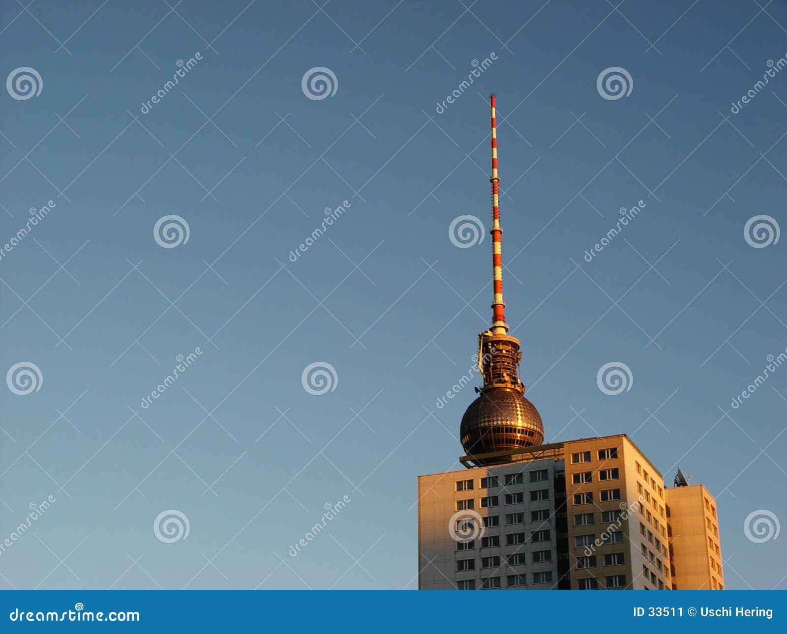 Torens in ochtendlicht