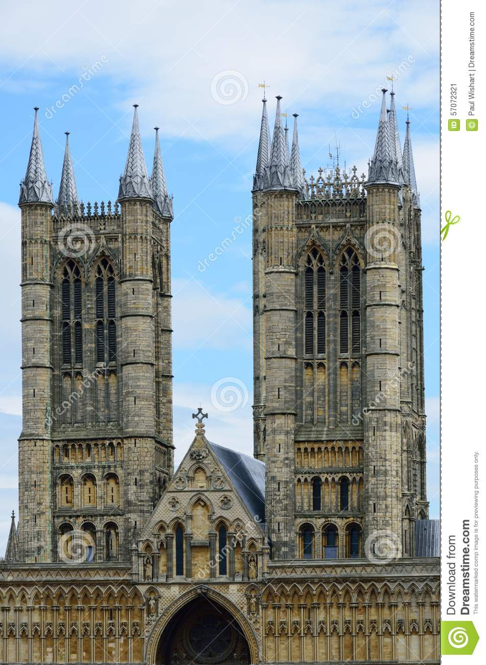 Torens van Lincoln Cathedral