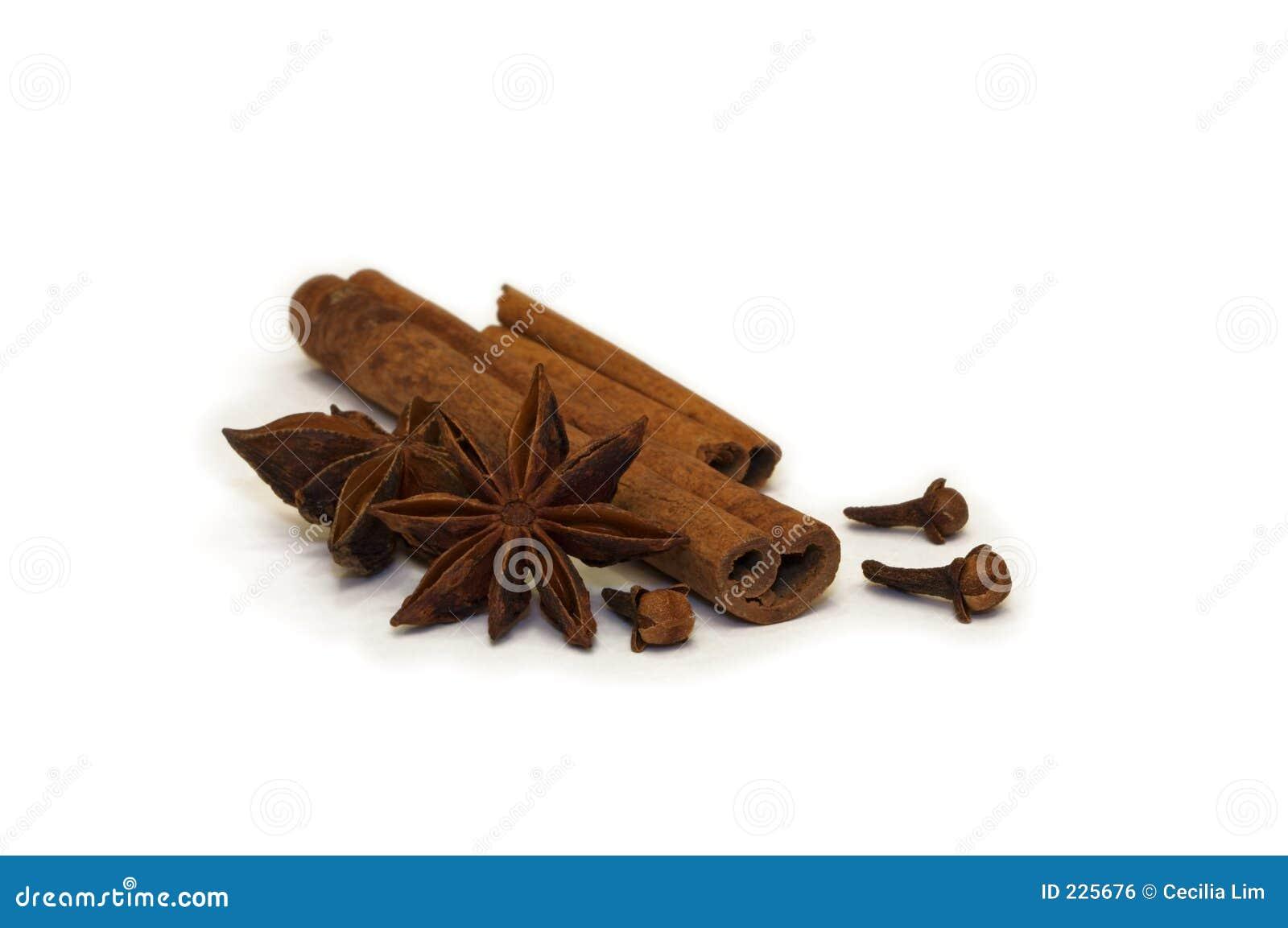 Torkade kryddor