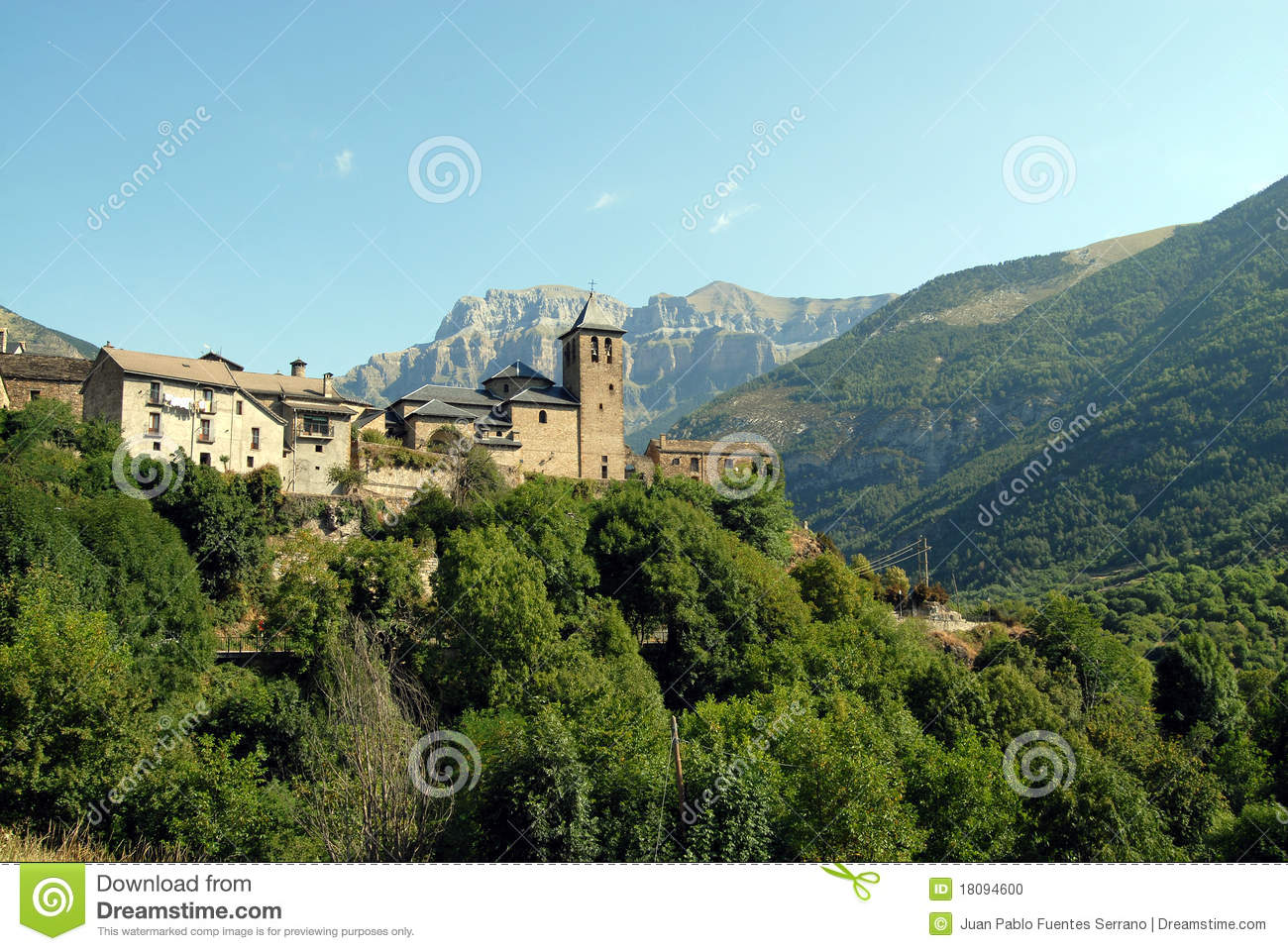 Torla Spain  City pictures : Torla Spain Stock Photo Image: 18094600