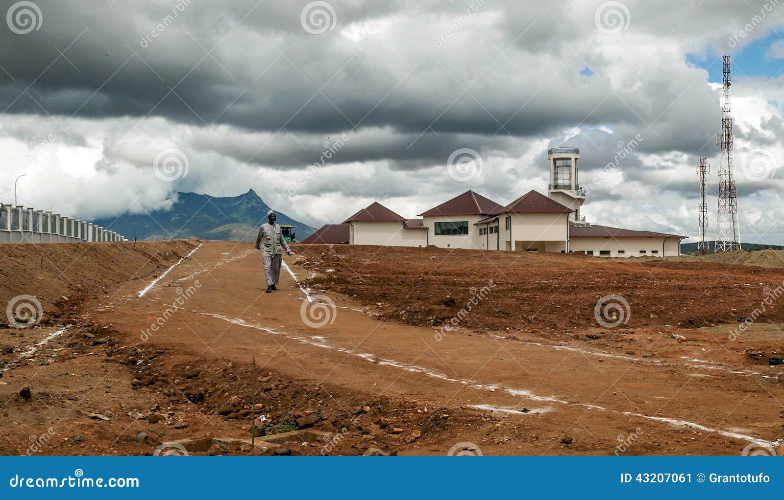 Download Torn Av Den Tanzania Flygplatsen Redaktionell Bild - Bild av härlig, afrikansk: 43207061