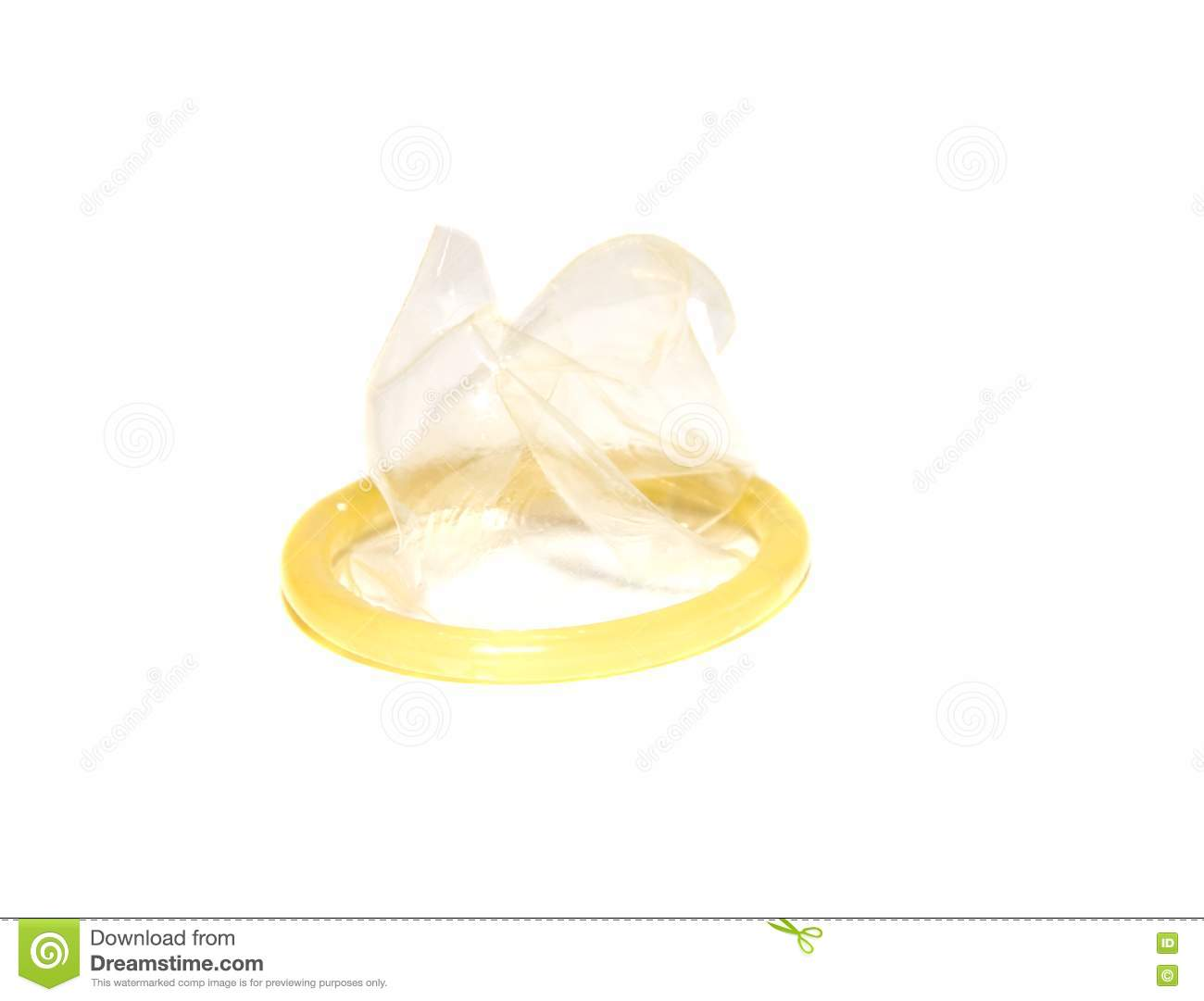 The Torn Condom Royalty Free Stock Images - Image: 14816409