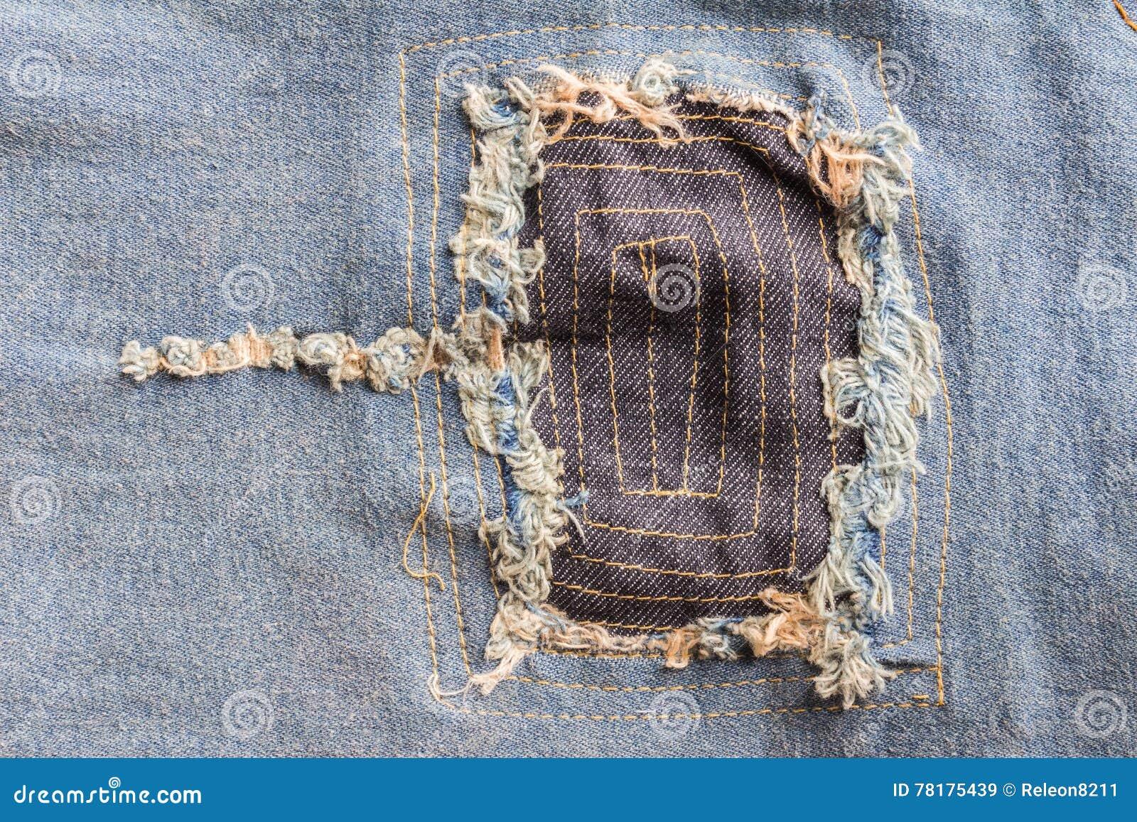 Torn denim clipart jeans texture