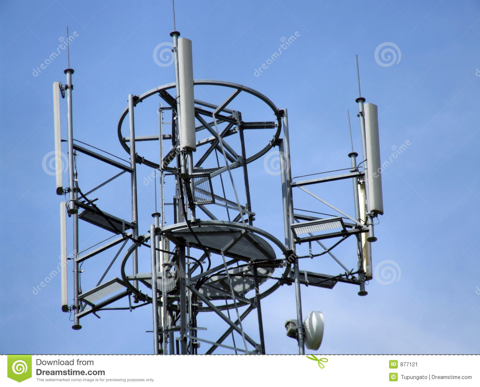 Torn för antennaecellöverkant