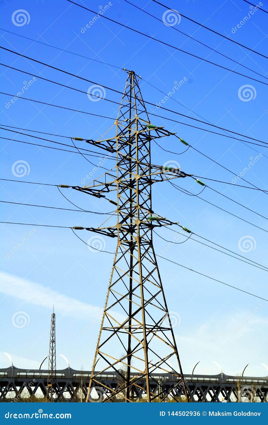 Torn för maktöverföring med vägen