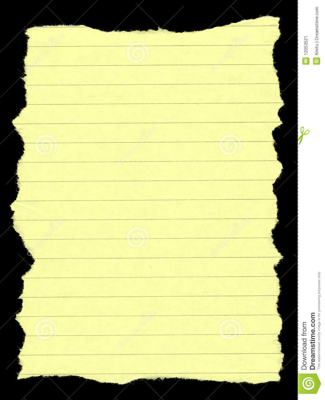 torn lined paper stock illustration. illustration of background