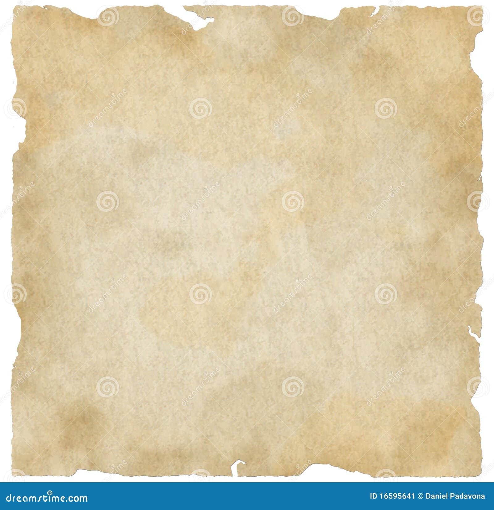 Torn Old Paper