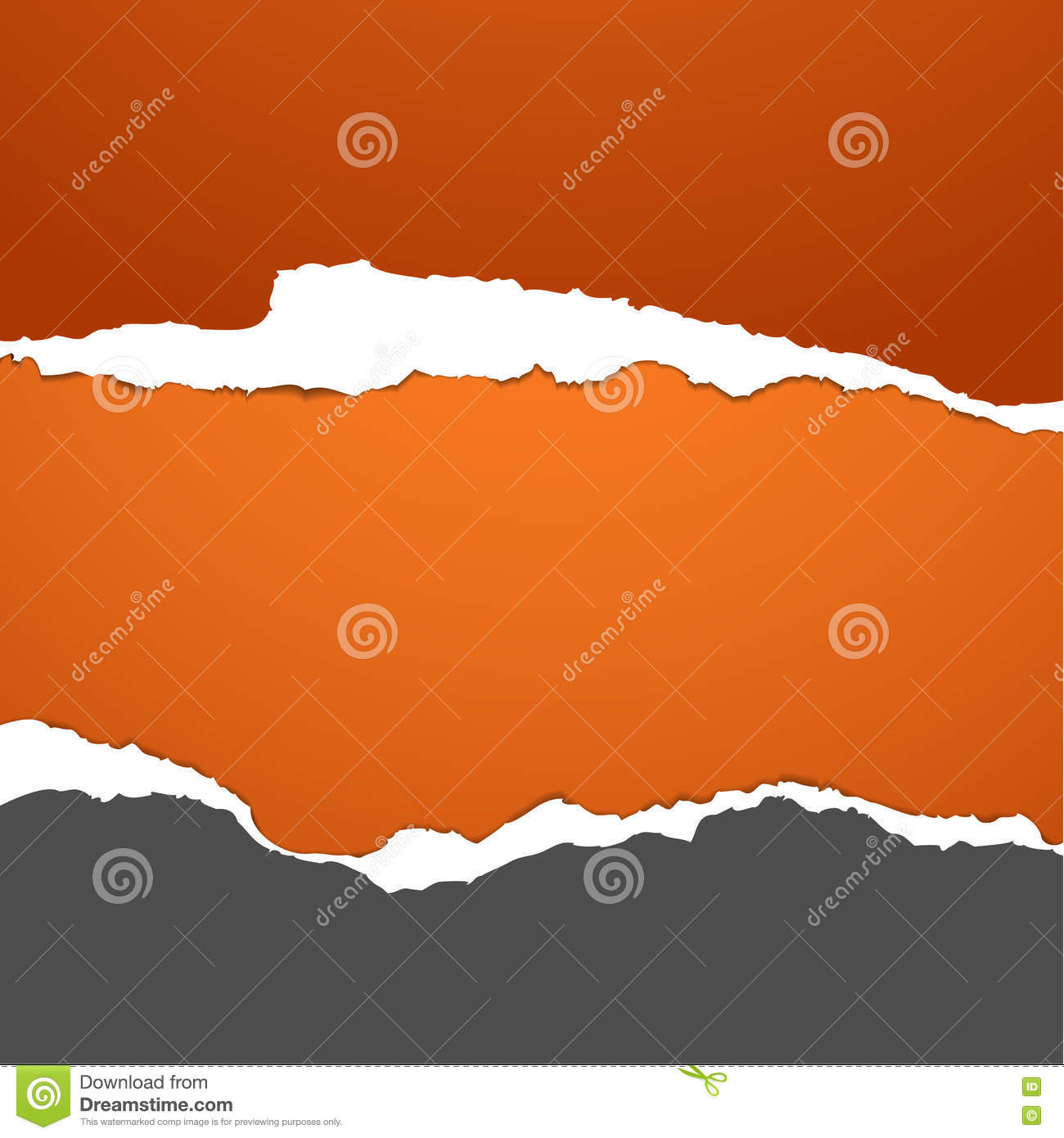 Torn Paper Stock Photo - Image: 74371683