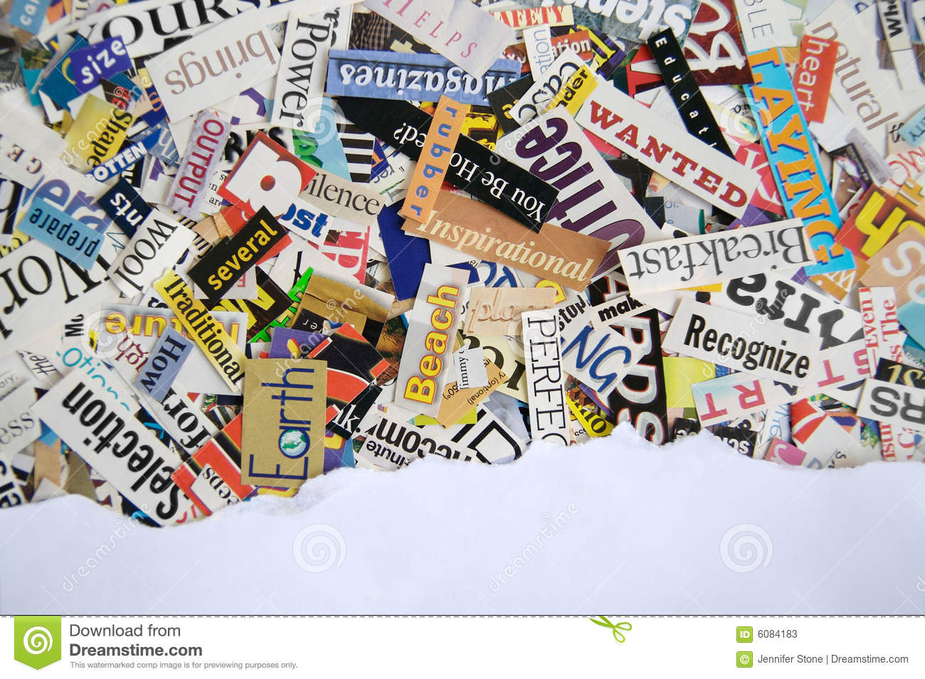 Magazine word background stock photography image 12291482 - More Similar Stock Images Of Word Clippings From Magazine Background