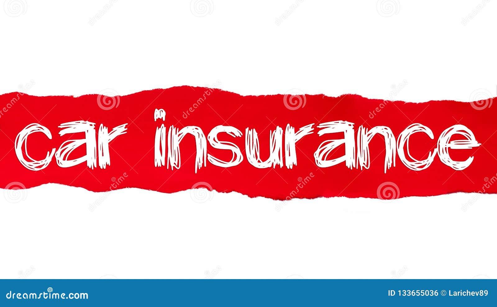 Insurance Paper For Car - Insurance