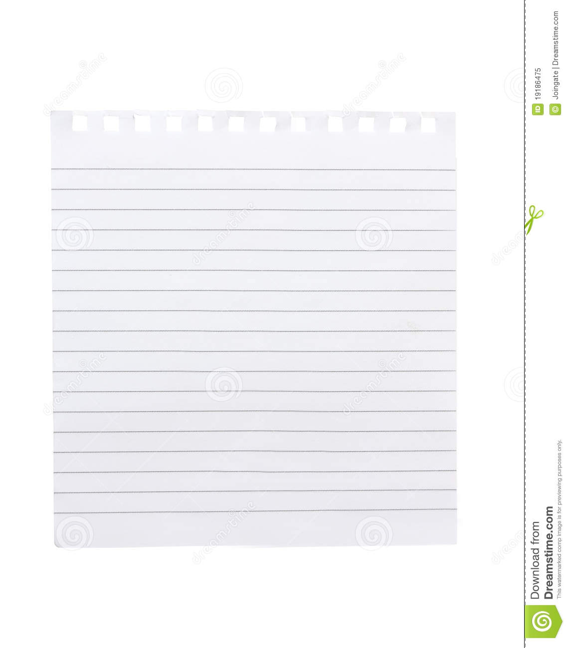Torn Piece Of Notebook Paper Royalty Free Photo Image – Notebook Paper Download
