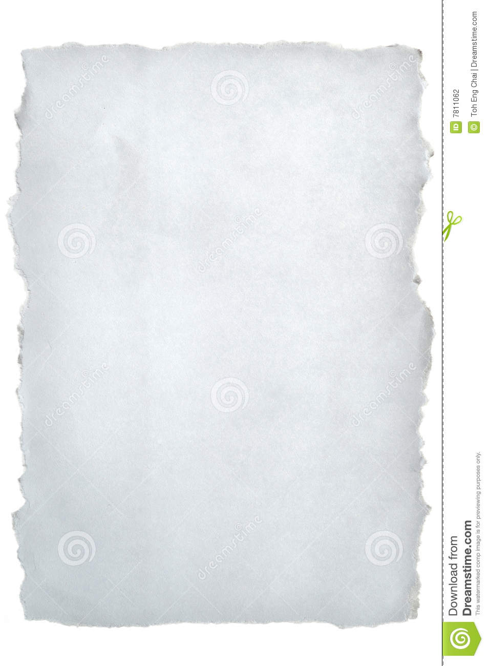 torn white paper stock photo image of tearing