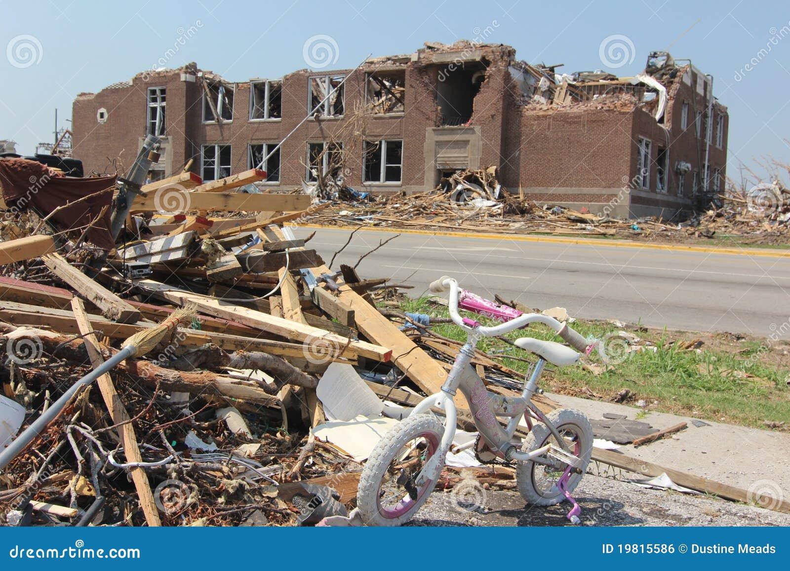 tornado destroyed schools editorial photo image of