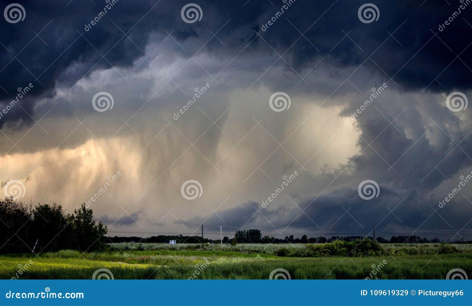 Tornado Gewaarschuwd Onweer