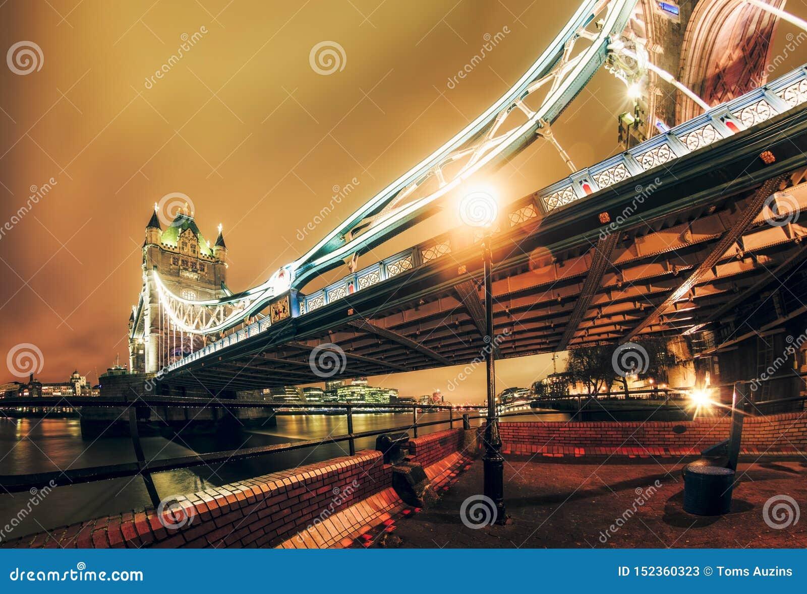 Tornbro på natten, Southwark